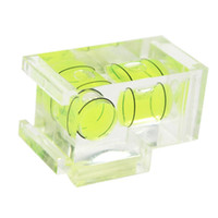 Wholesale S5Q Camera D SLR Double Axis Bubble Spirit Level Hot shoe for CANON NIKON OLYMPUS AAAAWX