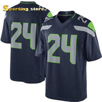 Wholesale Marshawn Lynch Seahawks Football Apparel Well Stitched Names and Logos Football Apparel New Arrive Cheap Discount Limited Jersey for Sale
