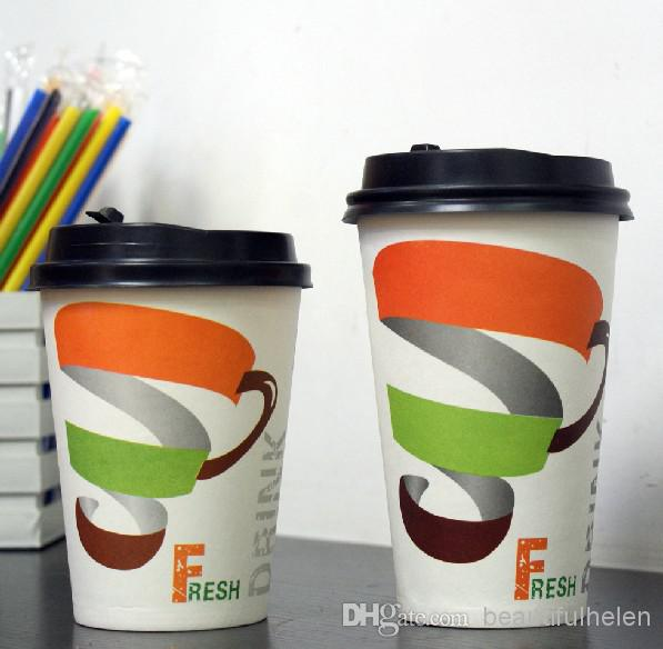 Бумажные стаканчики с дизайном