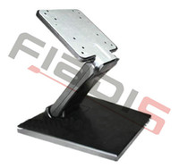 Wholesale DHL Adjustable folding LCD TV Stand Universal metal monitor stand with VESA