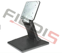 Wholesale 1pc For quot Adjustable folding LCD TV Stand Universal metal monitor stand with VESA