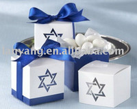 Wholesale Star of David Laser Cut Favor Box