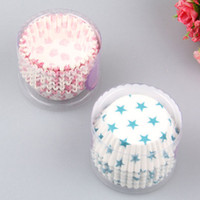 Wholesale Paper Cake Cup Liners Star Baking Cup Muffin Cases Cupcake Chocolate Paper Baking Cup Set