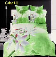 Adult Plain 100% Cotton Home Textile 3D flower bedding sets 100% Cotton Luxuriantflowers duvet cover bed sheet 4pcs Bed Linen sets 200*230cm
