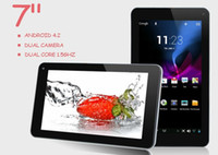 Wholesale 7 quot VIA VIA8880 Dual Core Android OS M G Dual Camera P MID WM8880 V7 Android Tablet Dual Camera