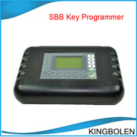 Wholesale 2014 Super sbb key pro sbb key programmer sbb transponder key machine DHL