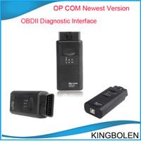 al por mayor cables de diagnóstico-2014 la más nueva versión op-com herramienta de diagnóstico op com interfaz OBDII de diagnóstico OPCOM Opel escáner profesional de auto