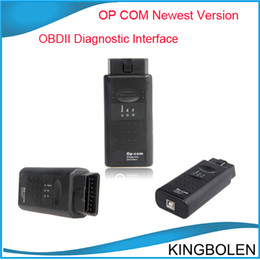 Wholesale 2014 Newest Version op com diagnostic tool op com OBDII Diagnostic interface professional opcom opel auto scanner
