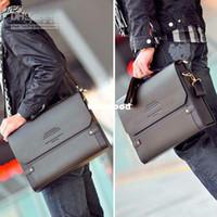 Compra Borse per gli uomini-Bag Shoulder Bags messaggero Cartella in pelle Bookbag BG65 1pcs / Lot PJ Polo Uomo
