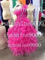 Cheap Model Pictures Pageant Dress Flower Girl Best Girl Ruffle Cupcake Dress
