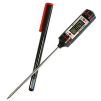 Wholesale S5Q Steak Turkey Wine Jam Meat Food Probe BBQ Digital LCD Thermometer Kitchen AAAAJE