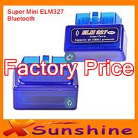 Wholesale 2013 of Applied Mini elm327 bluetooth mini Interface V1 obd2 OBDII Bluetooth Car Auto Diagnostic Scanner