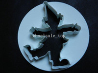Wholesale 3pcs set clown cake cutter mould decoration cake making make tool