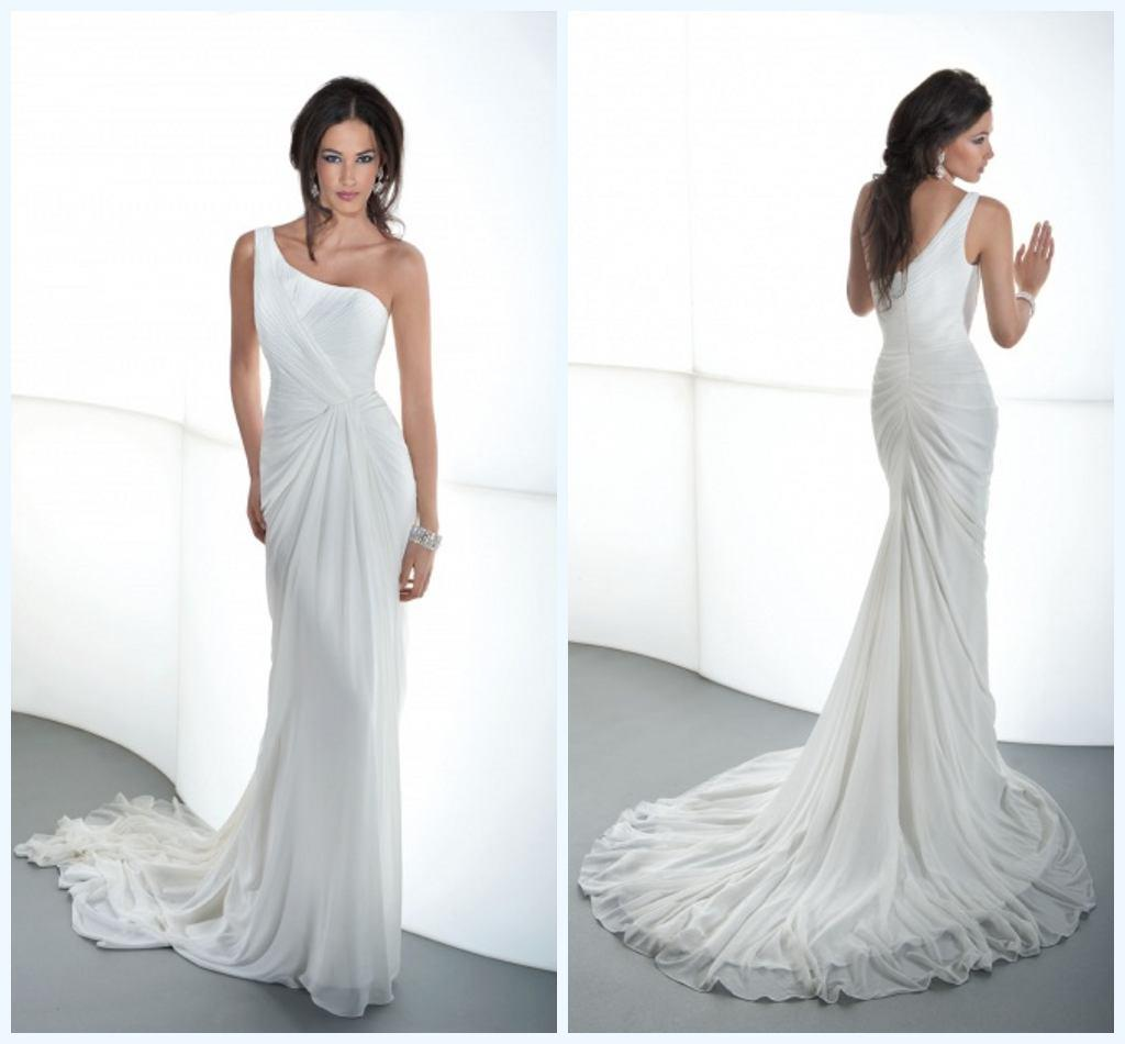 Dm 2013 best selling simple style sheath wedding dresses for Sell your wedding dress fast