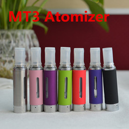 MT3 Electronic Cigarette Atomizer Clearomizer E Cigarette Atomizers Rebuildable Atomizer For E Cig Ego Evod Battery