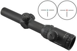 Vente en gros Livraison gratuite Visionking 1.25-5x26 Rifle portée IR chasse Riflescope 30 mm Monotube pour AR à partir de chasse ir fabricateur