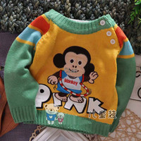Wholesale Kids Wear Boys Girls Children Sweater Pullover Baby Knitted Sweaters Child Clothing Girls Pullover Wool Sweaters Kids Pullover Baby Clothes