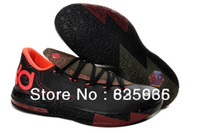 Wholesale 2014 Latest discount cheap name brand KD VI Basketball Shoes is women Athletic combat boots