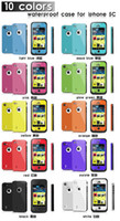 iphone 5s - Waterproof Case Water Proof Case Cover Shockproof for iphone C S s samsung s3 s4 note iphone S by world factory
