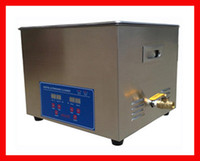 40 khz industrial material - 10 L Ultrasonic Cleaner With Timer amp Heater Stainless Steel Material Industrial applications