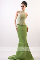 australia images - Best Selling gorgeous green color mermaid style Long Evening Dress New Arrival Prom Gowns evening gowns Australia
