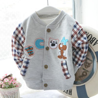Cheap Cute Baby Boy Clothing Infants baby boy Cool Jacket Children outware Kids Jacket Boys Clothes Fashion Casual Coat Baby Jacket, 4pcs Lot.