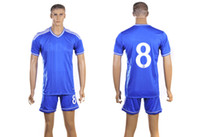 Wholesale New Chelsea Football Kit Season LAMPARD Home Soccer Jerseys with Soccer Shorts Top Quality Brand Sports Jersey Cheap Jerseys