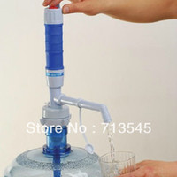 Water   2013 New Powerful Electric Pump Dispenser Bottled Drinking Water 5 Gallon w Press Switch#45600