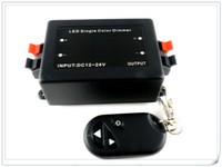 24V rf light wireless remote control - 4PCS Full New V V DC A RF Single Color LED Dimmer Controller with Wireless Remote for Flexible LED Strip LED Light Bar Modules