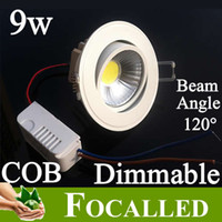 Wholesale 2014 New Arrival Dimmable Led Downlight W lm Beam Angle Degree Led Ceiling Light Lamp Bulb Warm Nature Cool White k k