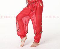 Children belly dance pants chiffon pants hanging beams indian dance