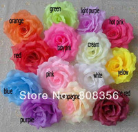 Wholesale cm quot Artificial Silk Camellia Rose Peony Flower Heads Wedding Party Decorative FlwoersSeveral Colours Available