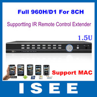 Wholesale HD Full D1 Full H CH H Real Time Standalone CCTV Security Network DVR With HDMI Support Wireless IR Extender MAC U