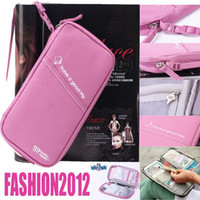 Wholesale Promotion Lady s Organizer Handbag Travel Bag Pouch Passport Holder Credit ID Case FW0021