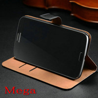 Cheap For Samsung genuine leather wallet ca Best Leather For Samsung Galaxy Mega i9200 Cheap genuine leather wal