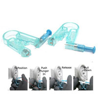 ear body piercing gun - S9Q New Healthy Asepsis Ear Body Studs Earring Piercing Gun Pierce Mackup kit AAAARO