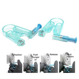 Wholesale S9Q New Healthy Asepsis Ear Body Studs Earring Piercing Gun Pierce Mackup kit AAAARO