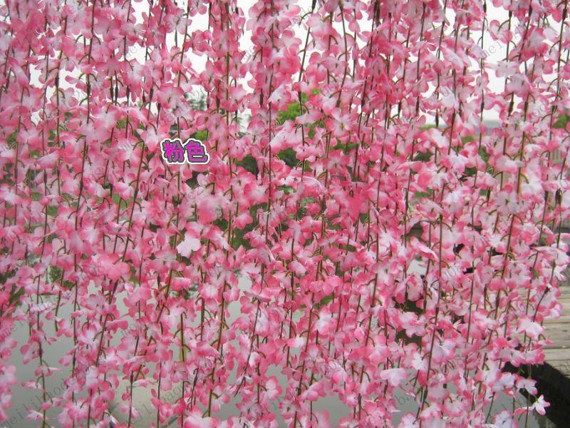 Vente en gros fleur de soie vignes de simulation des - Simulation decoration interieure ...
