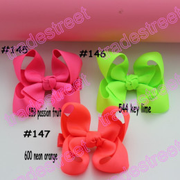 free shipping 2014 newest 50pcs 3''Boutique hair bows ABC girl boutique bows toddle baby hair clips hair accessories
