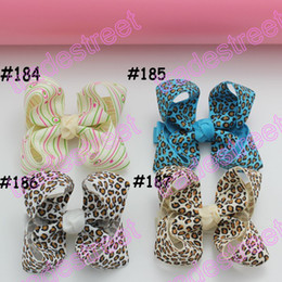free shipping 2014 new 50pcs 3''Boutique hair bows ABC girl boutique bows toddle baby hair clips hair accessories