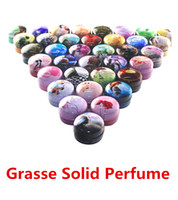 Wholesale GRASSE Solid Perfume Skin Balsam Skin Balm Fragrant Cream Resinoids Deodorant Cologne Fragrance Deodorant Body Lotion Body Cream