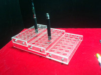 Other   Wholesale - Acrylic e cig display stand electronic cigarette stand ego battery vaporizer ecig display stand