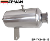 Wholesale EPMAN Universal Alloy Polished water tank oil catch can L Round Water Catch Can Fuel Tank EP YX9409