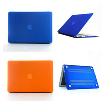 Wholesale Frosted Transparent Front Back Hard Case Cover For Apple Macbook Air Flip Laptop Protector Air inch Macbook Free DHL