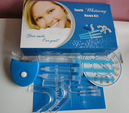 Wholesale Teeth whitening home kits with LED light teeth whiten whitening for home use