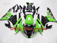 Wholesale 7gifts Fairing for Ninja ZX6R ZX6R ZX R ZX R Green Black
