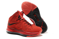 Cheap Wholesale Top Quality Famous Player Men's Sports Basketball Shoes (Varsity Red Black)