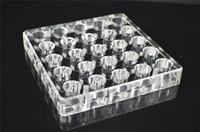acrylic box frames wholesale - Acrylic e cig display case frame stand shelf holder display rack box for atomizer DHL