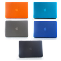 Wholesale For Macbook Air Frosted Transparent Laptop Protector Hard Case Folio Flip Cover For Macbook Air inch Free DHL