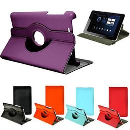 S5Q Rotating cuir PU stand Case réveil / sommeil Protecteur Pour Google Asus Nexus 7 AAACHA supplier nexus rotating leather case à partir de nexus rotation étui en cuir fournisseurs